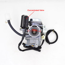 Motorcycle Carburetor For Honda SPACY 100 SCR100 SCR 100 GCC Scooter Moped With Concentrated Valve 16100 GCC B51