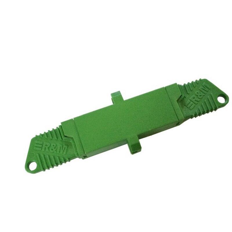 Livraison gratuite 10 pièces E2000 APC Adaptateur Fibre optique E2000 coupleur Fiber Optique E2000 APC connecteur monomode