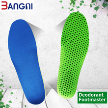 3ANGNI Footmaster Deodorization Breathable Sport Increase Insole Free Size Soft Light Weight Insoles For Men Women Shoes