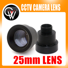 """CW 1/3"""" 25mm M12 CCTV MTV Board IR Lens for Security CCTV Video Cameras Free Shipping"""