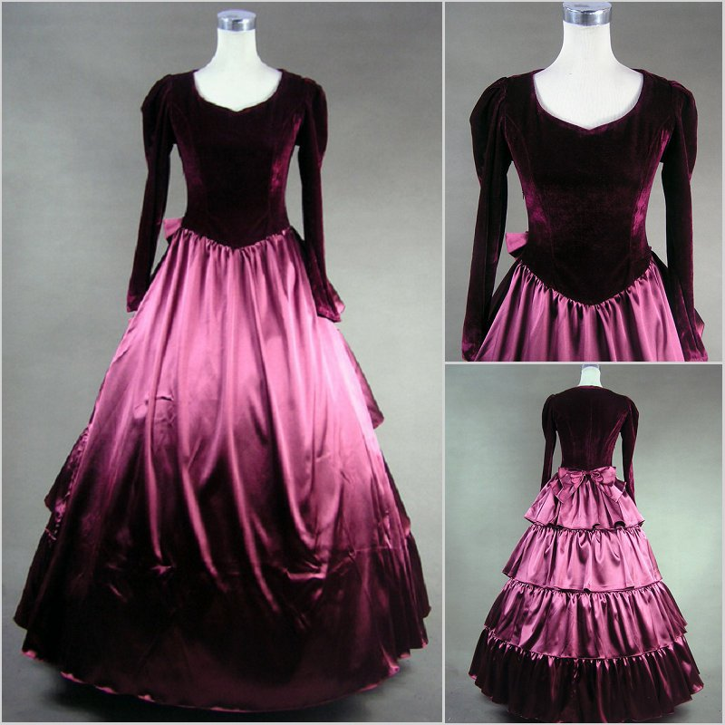Popular Victorian Style Evening Dresses-Buy Cheap Victorian Style ...