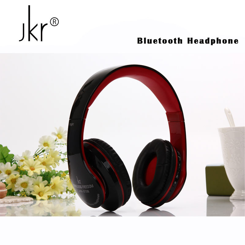 JKR Hifi Casque Audio Head Auriculares Cordless Wireless Blutooth Headphones Bluetooth Earphone For Phone Big Headset With Mic blutooth cordless wireless headphone auriculares big casque audio bluetooth earphone for your head phone headset mic sluchatka