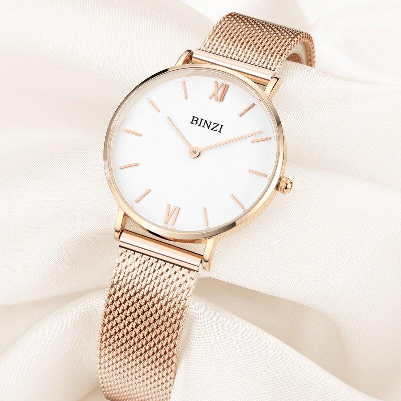 Миланские сетчатые часы из нержавеющей стали женские наручные часы браслет женские часы минималистичные наручные часы zegarek damski relojes xfcs