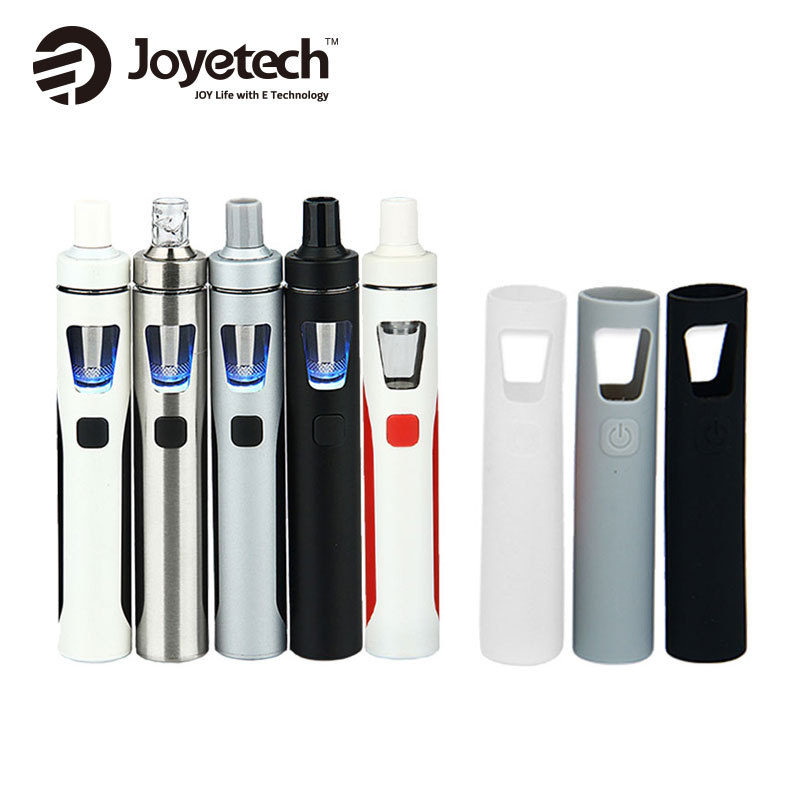 Joyetech eGo AIO Starter Kit 1500mAh Battery 2ml Tank 0.6ohm BF Coils w/ Silicone Case Cover for EGO Aio Vape Pen Kit vs Ijust s цена