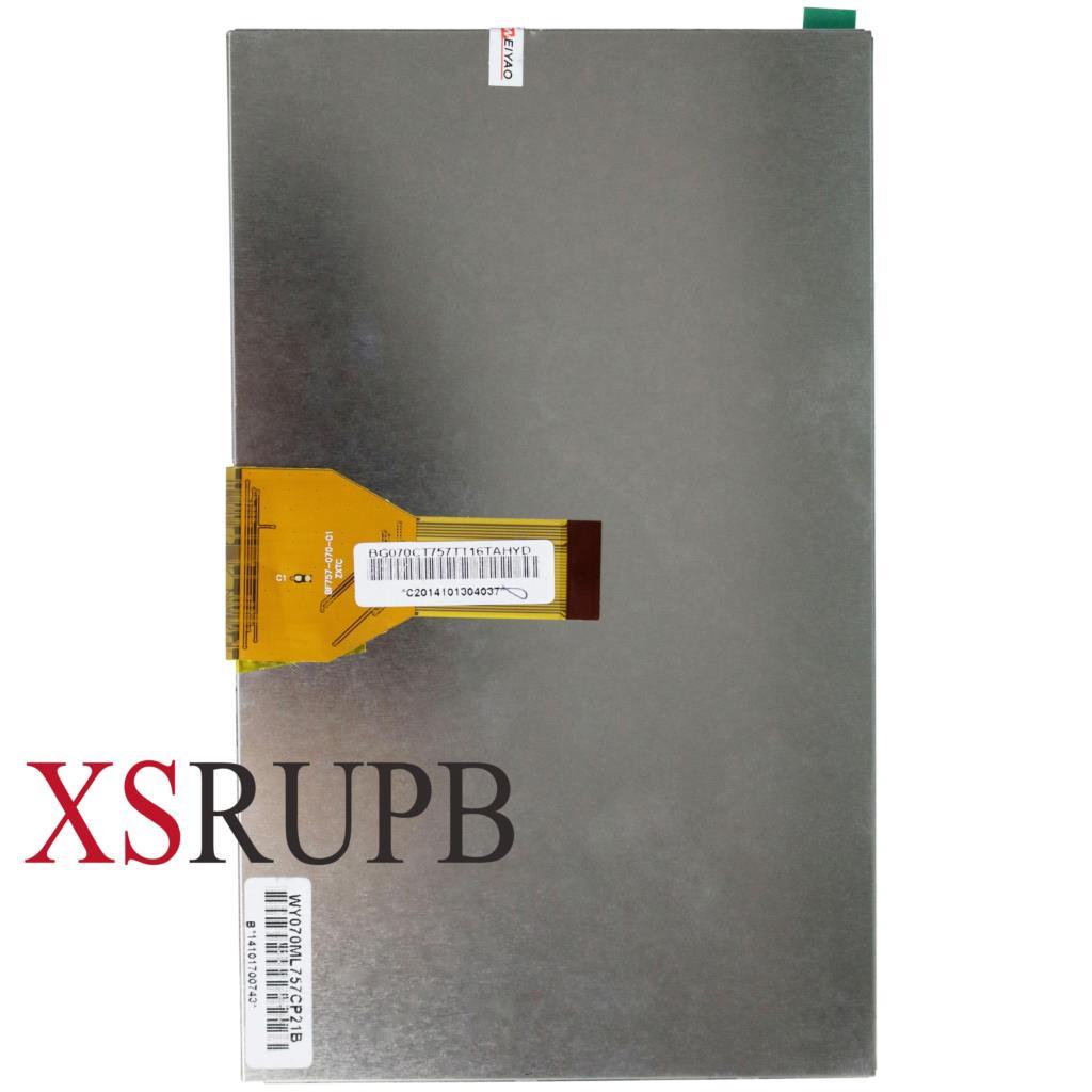 Original e Nova tela de 7 polegadas tela LCD 30pin WY070ML186BO18B WY070ML186B018B WY070ML186 WY070ML para tablet pc frete grátis
