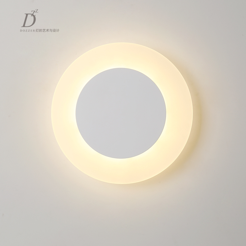 Modern minimalist LED aluminum lamp bedside lamp wall lamp room bathroom mirror light direct creative aisle 12w 16w 22w modern minimalist led metal wall lamp bedside lamp corridor aisle mirror bathroom light white