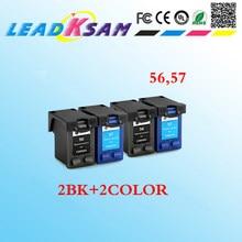 4x для hp 56 57 картридж совместимый для hp 57 для hp 56 DJ 450/450cbi/450ci/450wbt