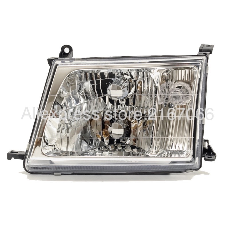 Headlight Left for Toyota Land Cruiser 100 2000 2001 2002 2003 2004 2005 Headlamp Driver Side - Manual Leveling