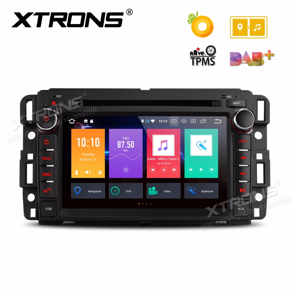 xtrons 7 android 8 0 octa core radio car dvd player. Black Bedroom Furniture Sets. Home Design Ideas
