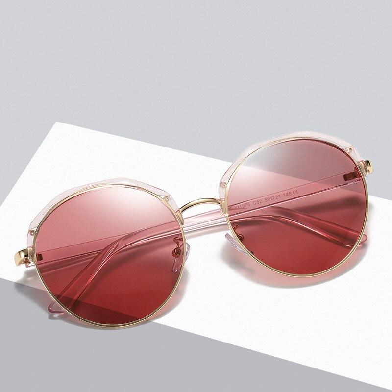 Ellen Buty Brand Design Fashion Women Sunglasses Polarized Cat Eye Alloy Ladies Sun Glasses Driver Driving