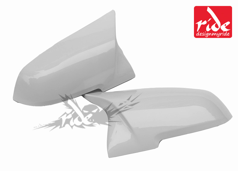 For BMW 4 Series F32 F33 F36 420i 430i 435i 440i 2012 2016 M Style High quality ABS Pure White Rear View Mirror Cover Decoration in Mirror Covers from Automobiles Motorcycles