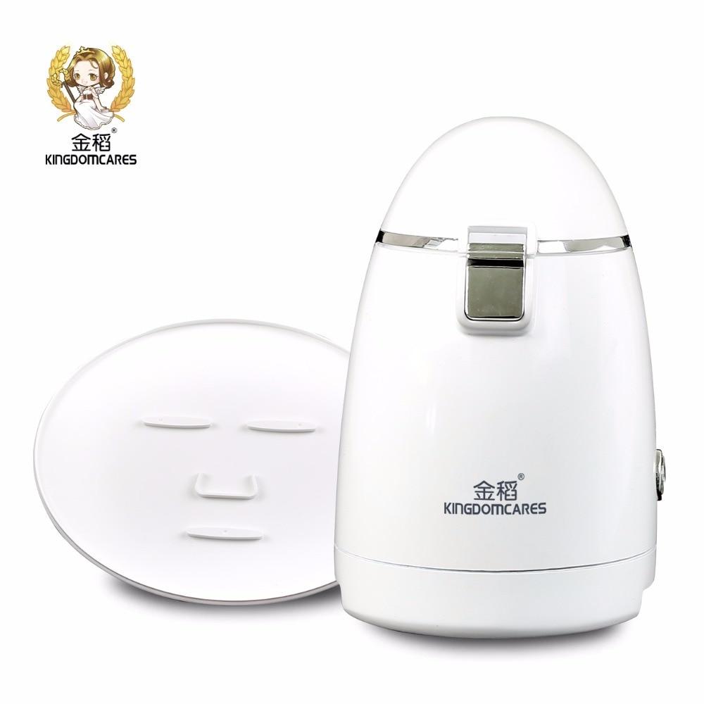 KINGDOM CARES Home use Mask Machine Facial SPA Automatic Fruit Vegetable Milk Maker DIY Natural Collagen Whiten