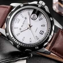 Wlisth assistir relógio dos homens 2017 top famosa marca de luxo relógios de pulso homens relógios de pulso de quartzo-relógio masculino relogio masculino hodinky