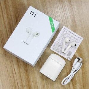 Image 1 - i11 TWS Mini Wireless Bluetooth Earphone 5.0 Wireless Earphones Earpieces Earbud Headset i7s With Mic For Xiaomi All Smart Phone