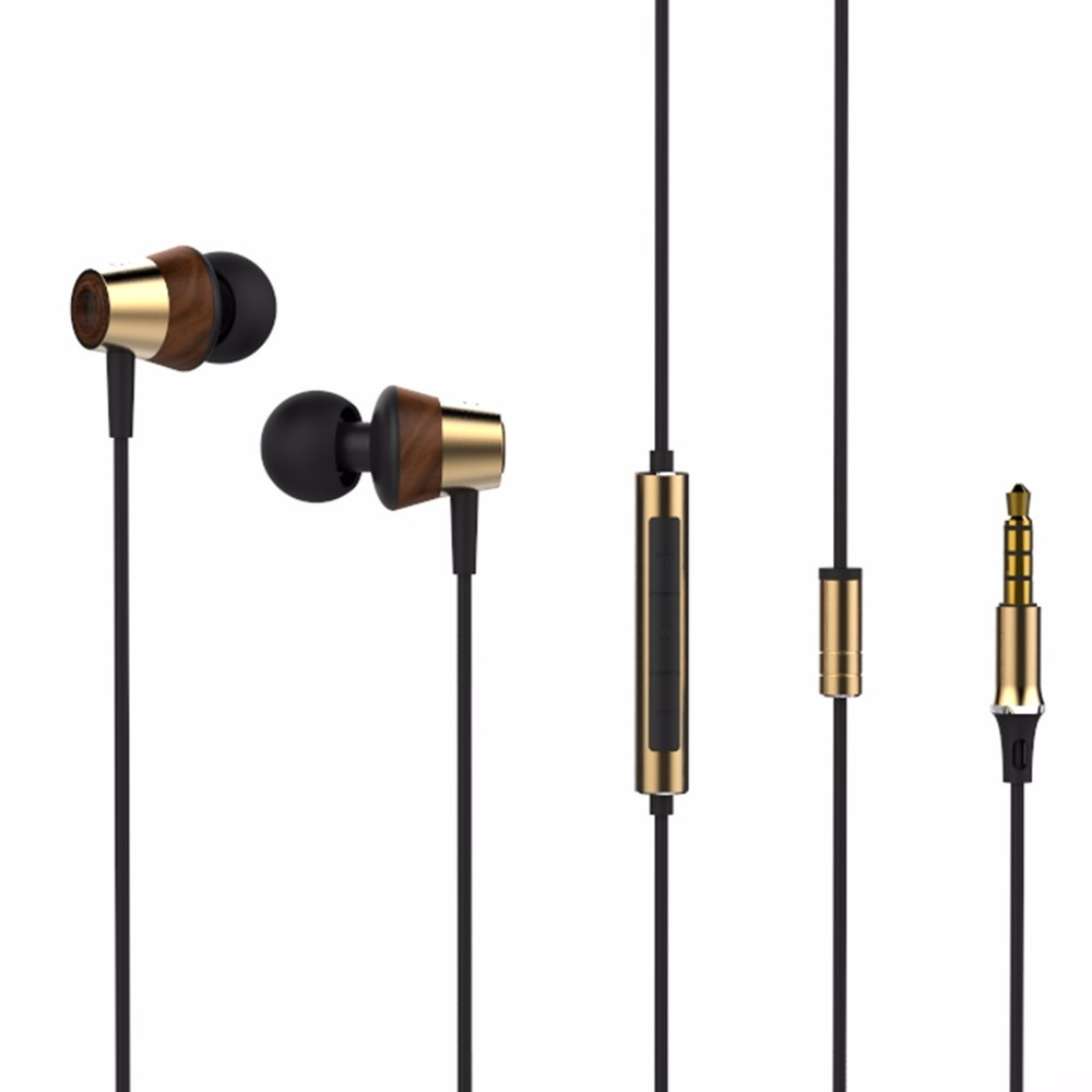 izk 2017 BK50 Wooden Pink Hybrid Balance Armature With Dynamic IEM HI-FI In Ear Earphones Earbuds with Mic and Volume Control гарнитура hi fun hi earphones v pink