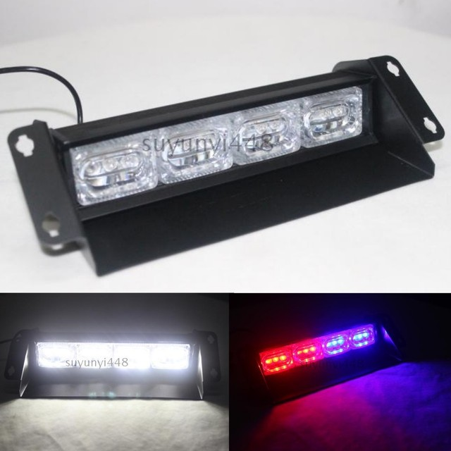 New 12 led police strobe dash light bar ems emergency warning new 12 led police strobe dash light bar ems emergency warning flashing hazard light day driving aloadofball Choice Image