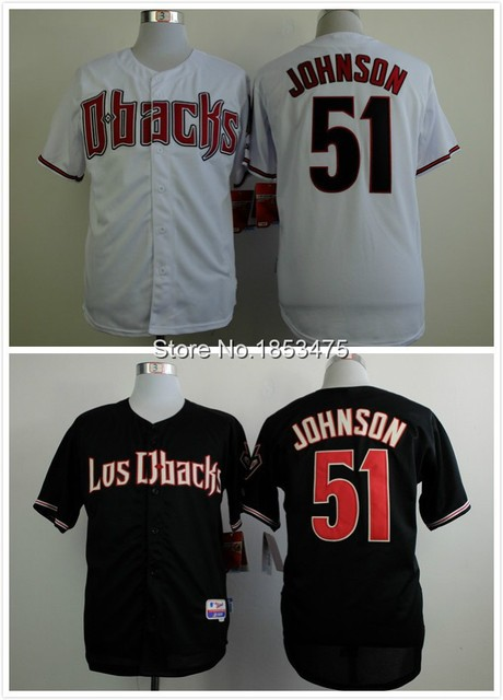 info for fd97d afee2 US $23.99 |Randy Johnson Jersey Cool Base 2015 arizona diamondbacks  Uniforms White-in Baseball Jerseys from Sports & Entertainment on  Aliexpress.com | ...