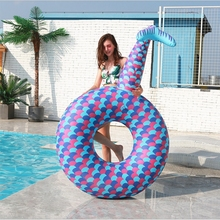 Inflatable swimming ring mermaid pool floats mattresses piscina Giant float adult rubber Ring pool party Mermaid water Toys new mermaid swimming ring adult pool floats inflatable buoy rubber rings flamingo donut circle women giant float pool toys