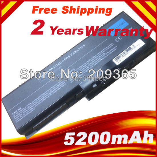 Laptop Battery For Toshiba Satellite L350 L350D P200 P300 P305 PA3536U PA3536U-1BRS PA3537U PABAS100
