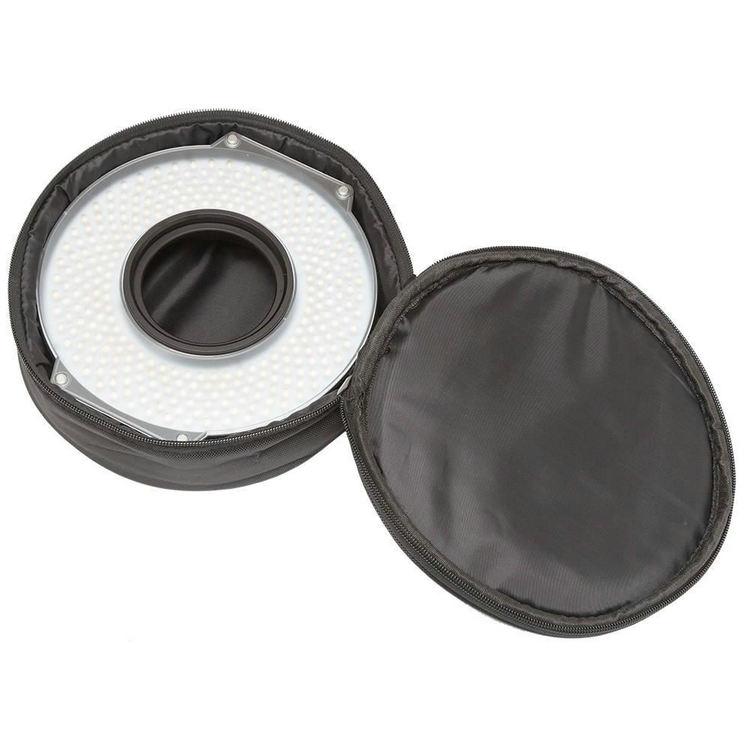 Compatible with 82MM, 77MM, 72MM, 67MM Lens Threads F/&V R-300 LED Ring Light Lens Mount Ring Set