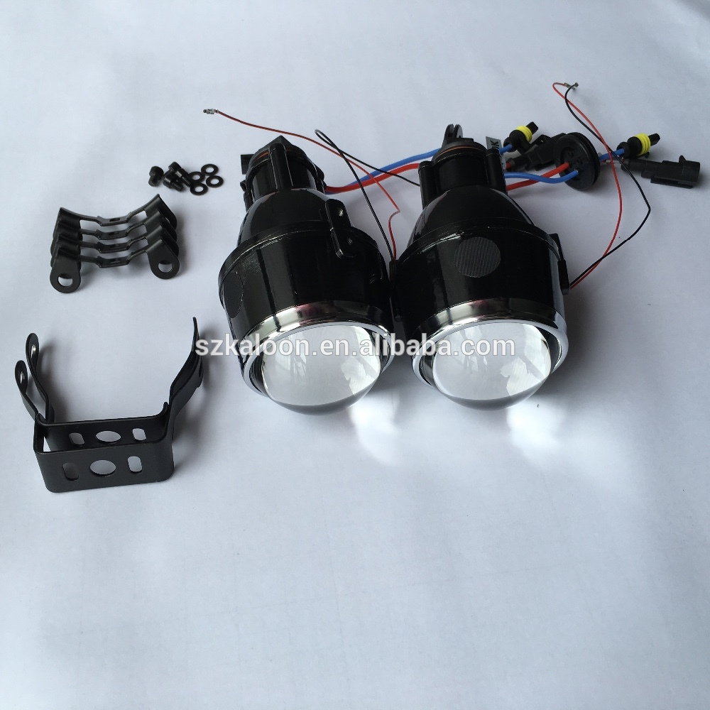 12V 35W 2 5 inch bi xenon fog lamp projector lens hi low beam H11 bixenon