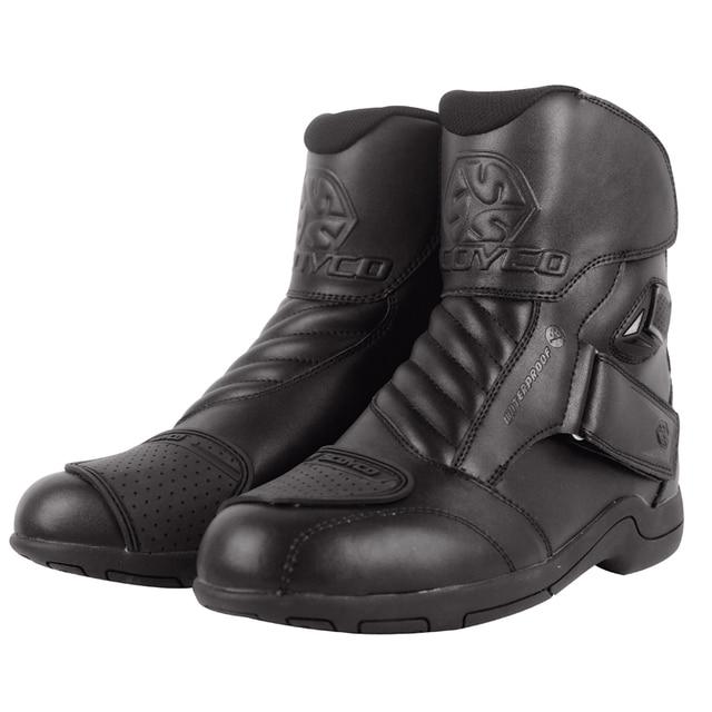 Scoyco Tahan Air Sepeda Motor Sepatu MBT011w Peta Balap Mobil Boots  Motocross Riding Sepatu 123f35e87d