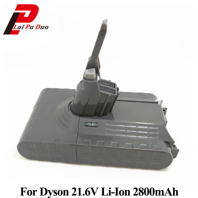 21.6V 2800mAh Li-ion Rechargable Battery For Dyson V8 Series Vacuum Cleaner high quality 21 6v 3000mah rechargable li ion battery for dyson v8 vacuum cleaner