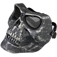 Free Shipping Hotsale Hot Military Protect Mask R1000 Skull Airsoft Paintball BB Gun Full Safety Face