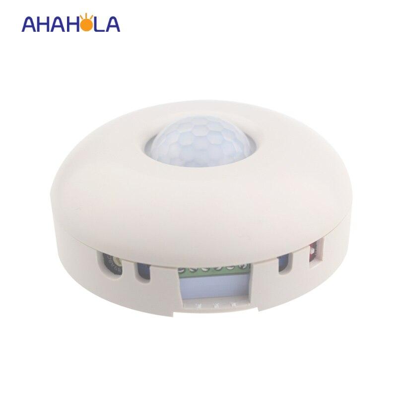 ФОТО TC500 day night motion sensor light switch dimmer AC 110-220v output 0-10v signal Timer lighting compensation level adjustable