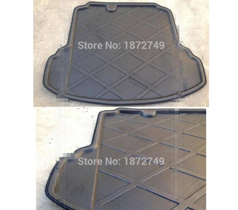 ФОТО FIT FOR 2012 VW JETTA MK6 REAR TRUNK TRAY CARPET Accessories car-styling