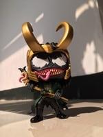 Exclusive Original Funko pop Secondhand Venom Venomized Loki Vinyl Action Figure Collectible Model Loose Toy No Box