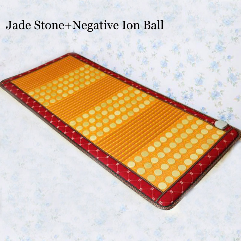 New Arrival Jade Heating Mat with Negative Ion Ball Heating Jade Mattress for Sale 4pcs new for ball uff bes m18mg noc80b s04g