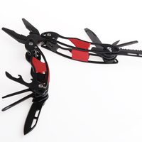 Portable Outdoor Camping Multi Function Pliers Stainless Steel Multi Tools Pocket Fold Pliers SR306