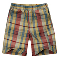 Moda shorts da manta do menino da criança com 100% algodão tecido 17BS02 Um