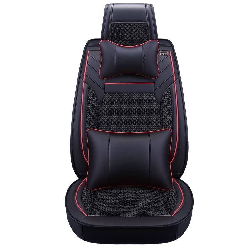 6D Styling Car Seat Cover For Toyota Camry 40 RAV4 Verso FJ Land Cruiser LC 200 Prado 150 120,Car pad,Styling