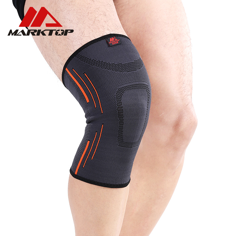 Marktop Sports Knee Pads Breathable Warmth Tennis Knee Support Elastic Professional Protective Neoprene Sports Safety M5105