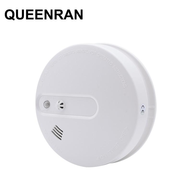Wireless Heat And Smoke Sensor Detector Fire Alarm System For Home Smart Smoke Temperature Sensor For 433MHz WIFI GSM G90B Plus