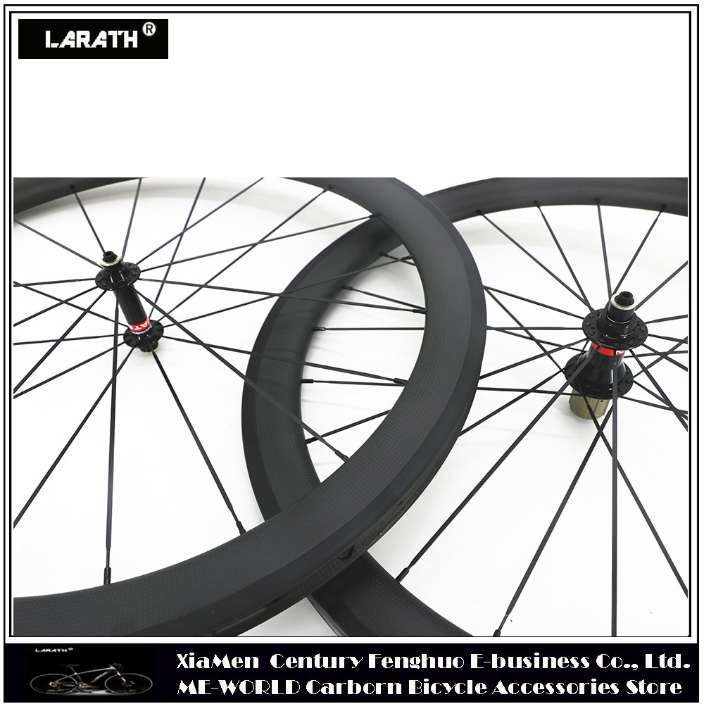 700C 88mm depth tubular Carbon Wheel Novatec Hub Road Bike front Wheels 1pc