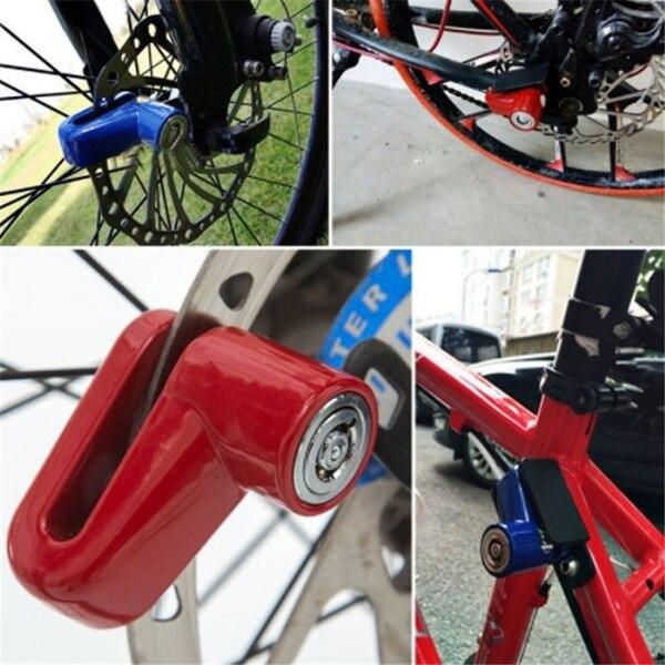 High Quality 2pcs Disc Bike Lock Bicycle Rotor Motorcycle Anti-theft Scooter Disk Brake  NCM99
