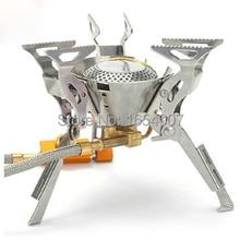 Огненный клен FMS-100 рюкзак газовая плита Сплит Кемпинг печи Cocinilla Кемпинг Houtkachel плиты Открытый Кемпинг приготовления пешего туризма