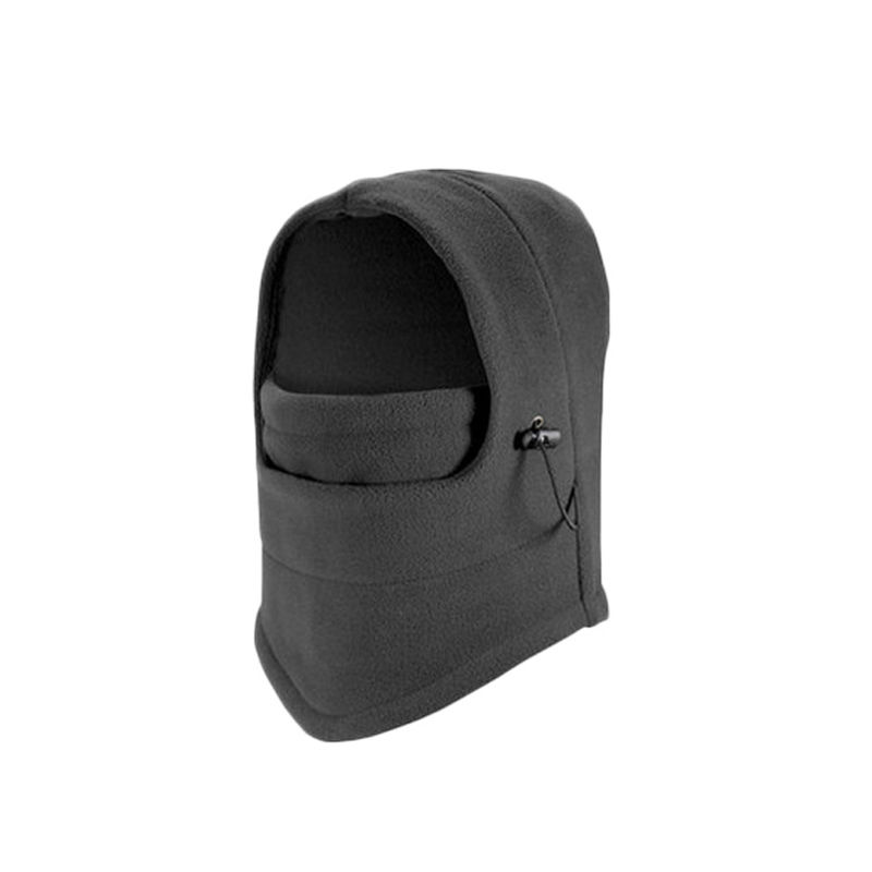 2019 Men Full Face Cover Winter Warm Ski Mask Cap Fleece Beanie CS Hat Balaclava Hot Men Full Face Cover Solid Cotton Mouth Mask