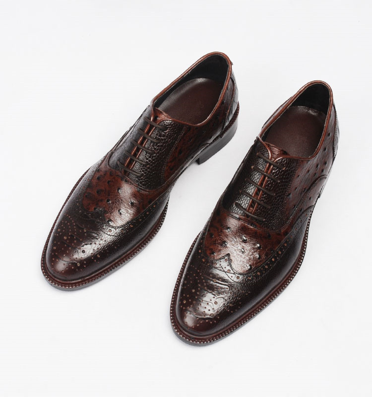 Men fashion Handmade Italian Real Leather High Quality Businessman Oxfords Shoes Formal Office Shoes 2018 Wedding Party Shoes goodster crocodile men leather shoes italian handmade men wedding shoes party banquet men oxfords