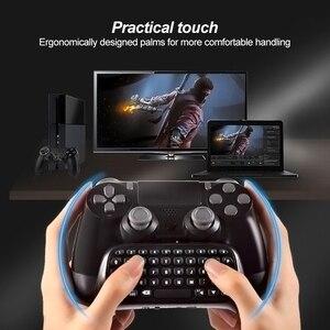 Image 3 - Mini Tastiera Senza Fili di Bluetooth Per Sony PS4 PlayStation 4 Accessori Gamepad Tastiera Per Il Gioco 4 P4 Parti del Controller Tastiera