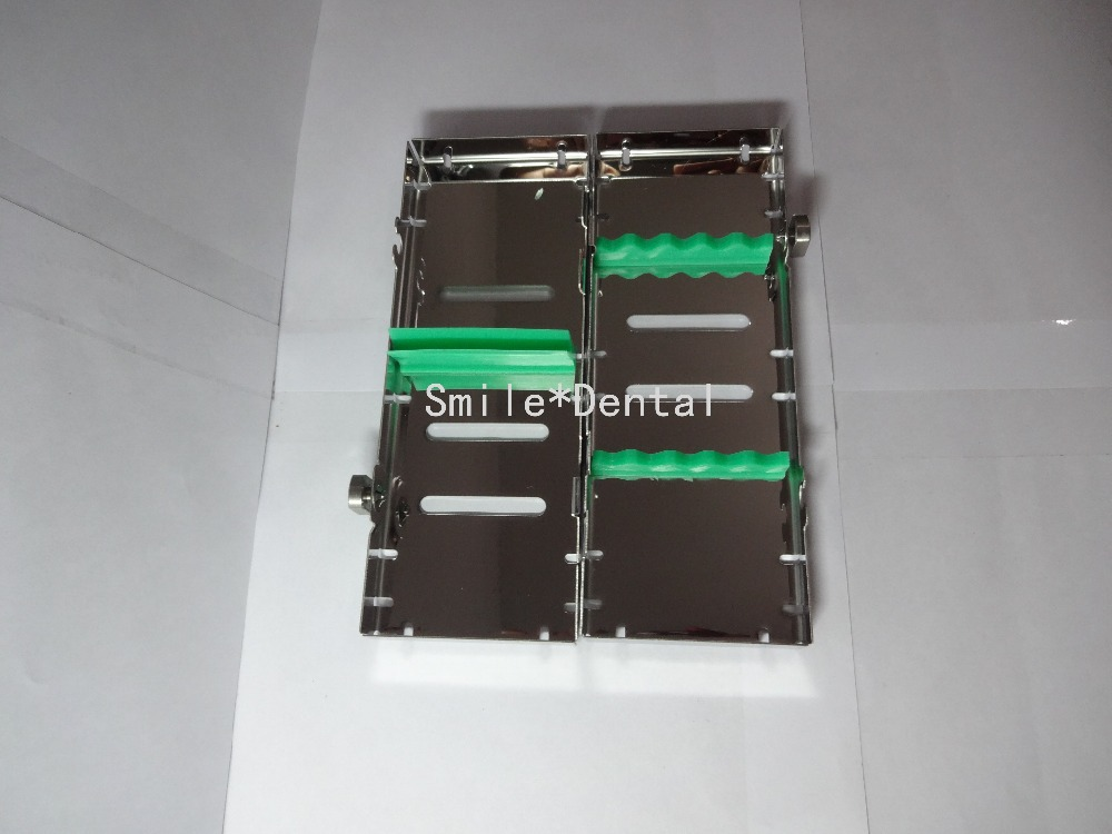 Sterilization Cassette Rack Dental Instrument Autoclave 5 Instruments