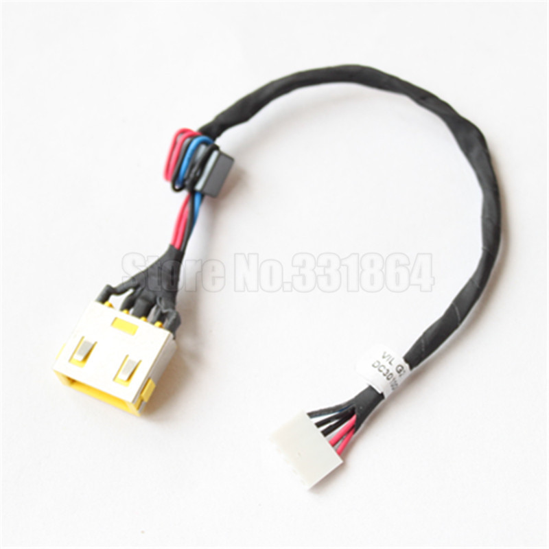New AC DC Power Jack Charging Socket with cable for Lenovo G500 G500S G505 G505S G400 G400S G490 laptop yuxi new laptop motherboard dc power jack connector for lenovo g400 g490 g500 g505 z501