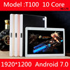 10 Inch Android 7 0 Tablet Pc 4G FDD LTE Deca Core 10 Cores 1920x1200 IPS
