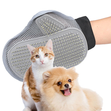 1pc Pet Animal Grooming Glove Dog & Cat Comfortable Comb Brush for Medium to Long Hair Relax Muscles Bath Cleaning