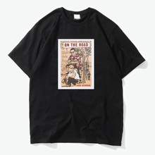 beat generation Zen and the Art of Motorcycle Maintenance cotton t shirt vintage tee