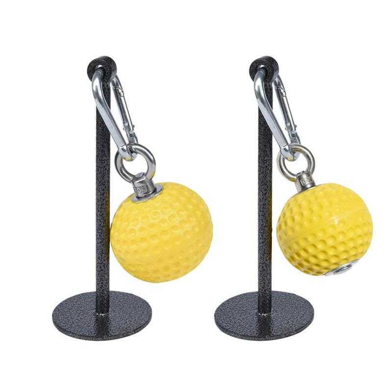 Lispeed Training Cannon Ball with Wrist Ball Pull Up Fitness Equipment Training Power Ball Holds Grips Pointing Hand Grip Strength Training Ball