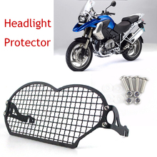 For BMW R1200GSA R 1200 GS R1200GS Adv 2004-2012 Motorcycle Stainless steel Headlight Protector Guard Protection Grill Cover